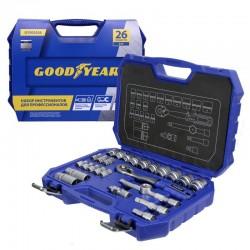 Набор инструментов Goodyear в чемодане, 26 предметов