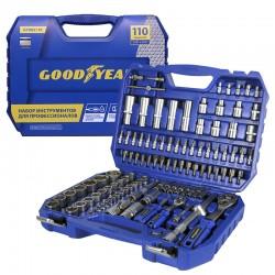 Набор инструментов Goodyear в чемодане, 110 предметов